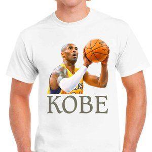 Other - Kobe Bryant Shirt Black Mamba Men's White T-Shirt